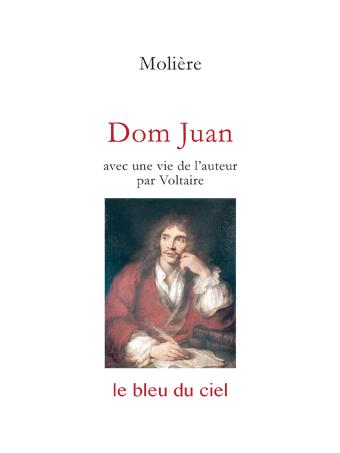couverture de la comédie de Molière | Dom Juan | 1665