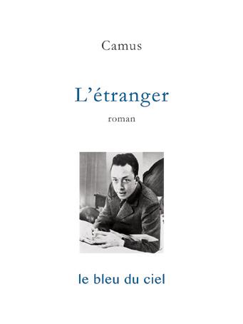 couverture du livre de Camus | L'étranger | 1942