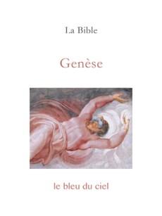 couverture du premier livre de la Bible | Genèse