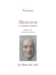 couverture du livre de Voltaire | Memnon & autres contes