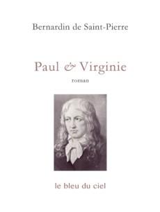 couverture du roman de Bernardin de Saint-Pierre | Paul & Virginie | 1788