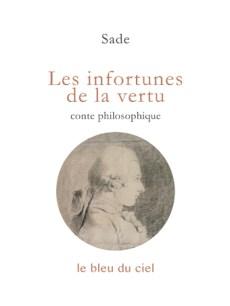 couverture du livre de Sade | Les infortunes de la vertu | 1787
