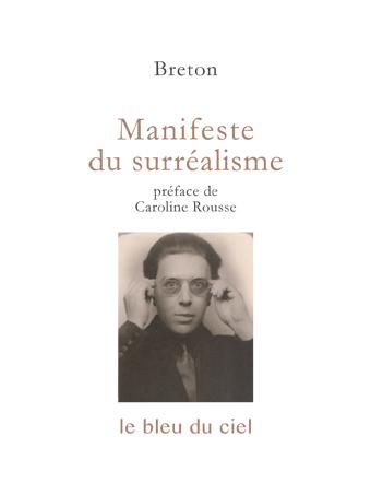 couverture du livre de Breton | Manifeste du surréalisme | 1924
