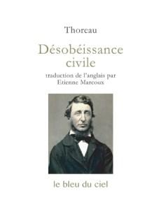 couverture de l'essai de Thoreau | Désobéissance civile | 1849