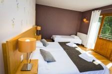 Chambre Junior Prestige à l'Hôtel le Chalet à Ax les Thermes près Andorre