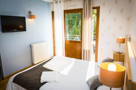Chambre Prestige à l'hôtel le Chalet à Ax les Thermes près l'Andorre