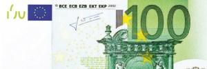 Le billet de 100€