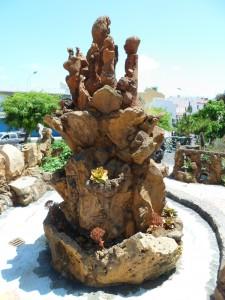 Le jardin botanique : une sculpture