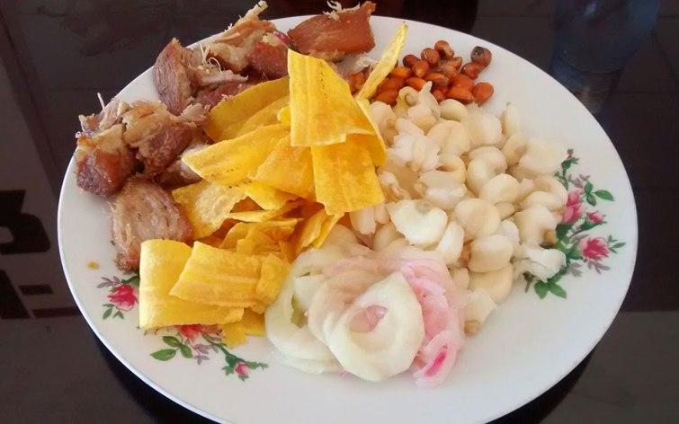 Fritada: Gastronomía del Ecuador.