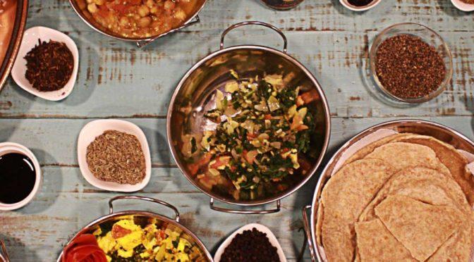 Taller de Comida India Vegetariana en Cuenca