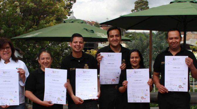 Certificación SETEC Molinos del Batán