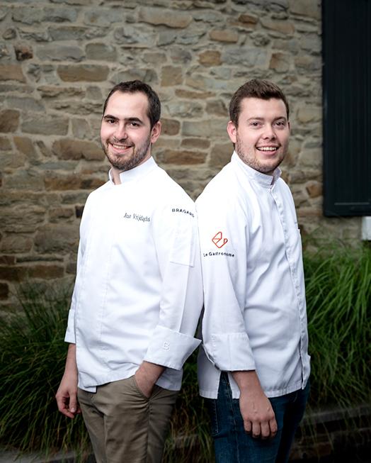 Sébastien et jean Le Gastronome