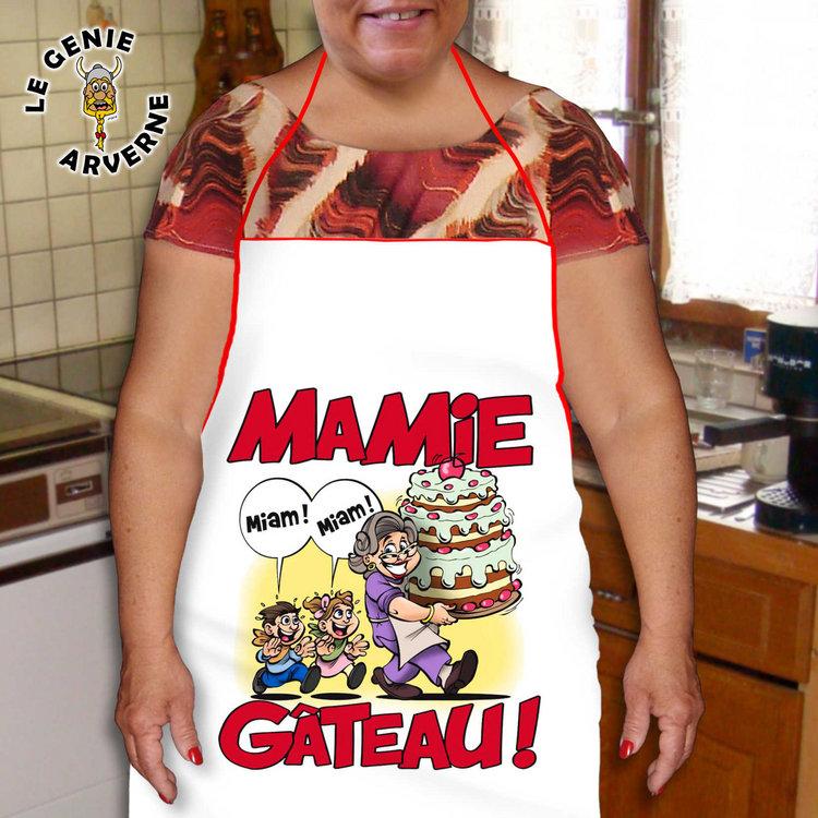 Tablier Mamie Gteau