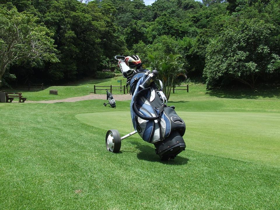 sac de golf trepied shot