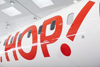 Hop! Air France étoffe son réseau quimperois