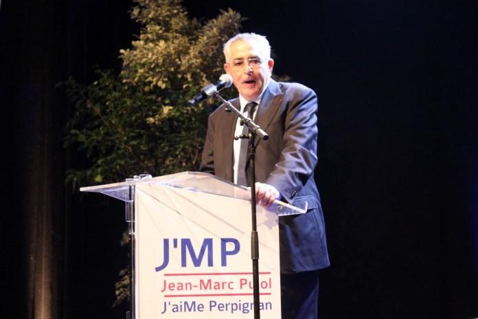 Jean-marc Pujol, maire de Perpignan
