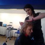 Olivia Choffel, coiffure à Pia ce samedi 28 février