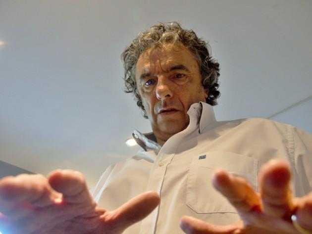 Roger Blandignères magnétiseur (Photo Jean-Luc Richard)