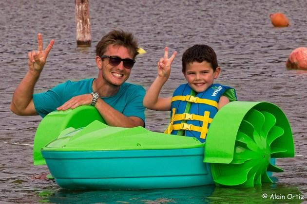 Mini bateaux enfants