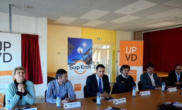 Ouverture de l'école d'ingénieurs de l'UPVD : Sup EnR