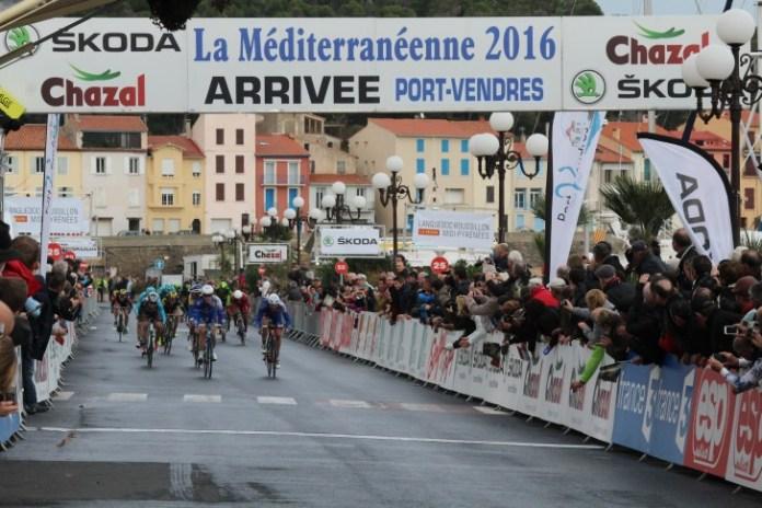 Port-Vendres La Cité de Vénus ville-étape de la course cycliste La Méditerranéenne