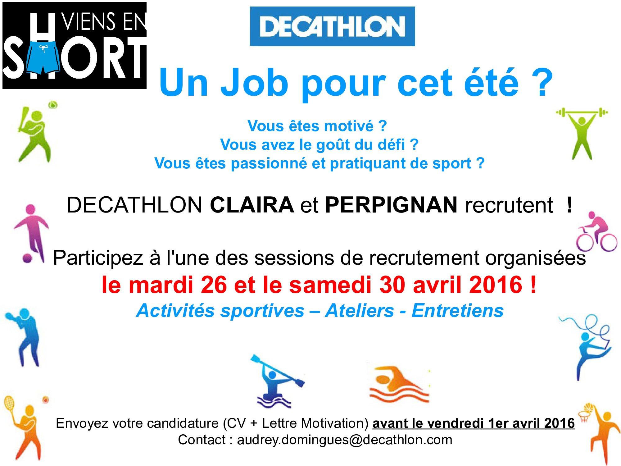 doc  cv pour decathlon