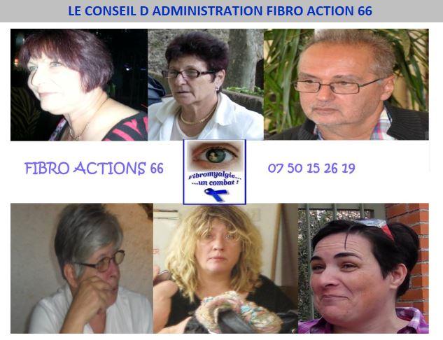 Conseil d'administration Fibro Actions 66