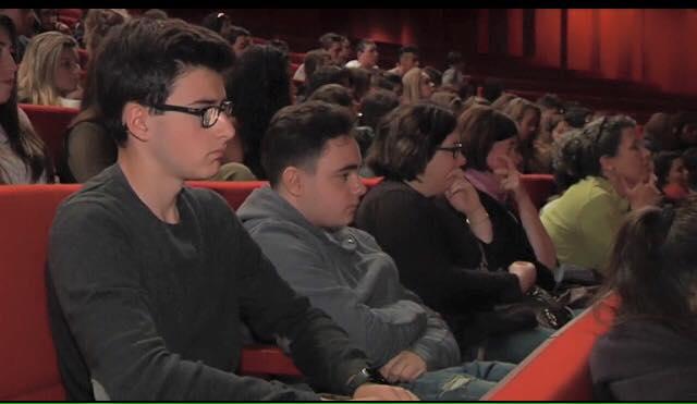 1 300 élèves venus à la rencontre de Baptiste Beaulieu, Prix Méditerranée des Lycéens 2016