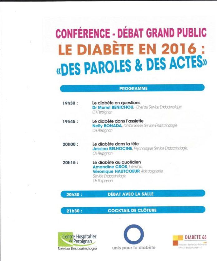 Programme de la conférence sur le diabète.1