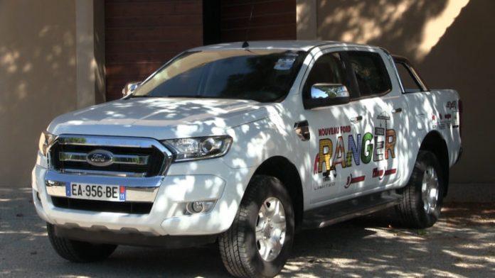 ►Château de Lastours, essai du nouveau Ford Ranger 4x4, piste et franchissement - Le Journal Catalan