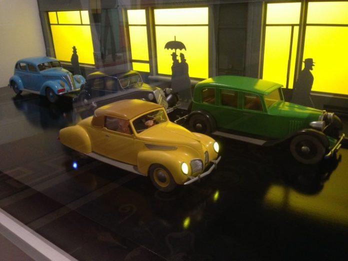 Tintin Maquette voitures - 7 Boules de Cristal