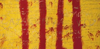 Tàpies-Catalan-couleurs-drapeau