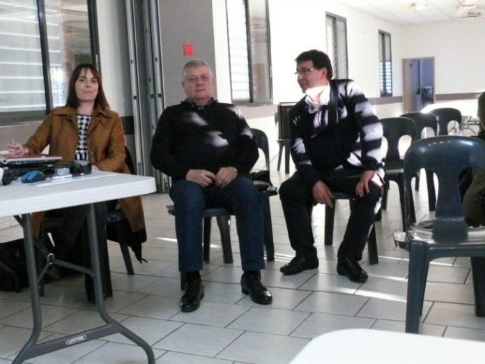 Alice Bayssière, Hervé Oriol et Alain Daous.