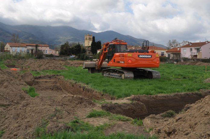 Fouilles archéologiques à Saint Genis des Fontaines