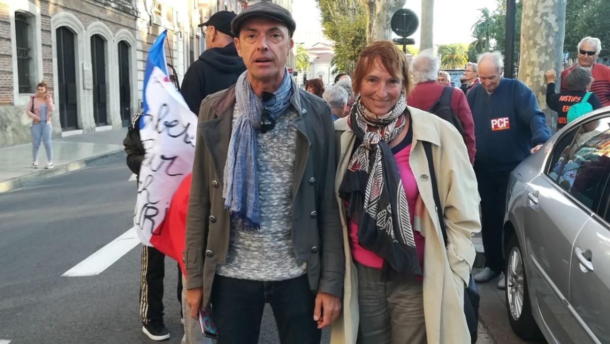 Les groupes d'appui de Céret de La France Insoumise pour la paix en Palestine