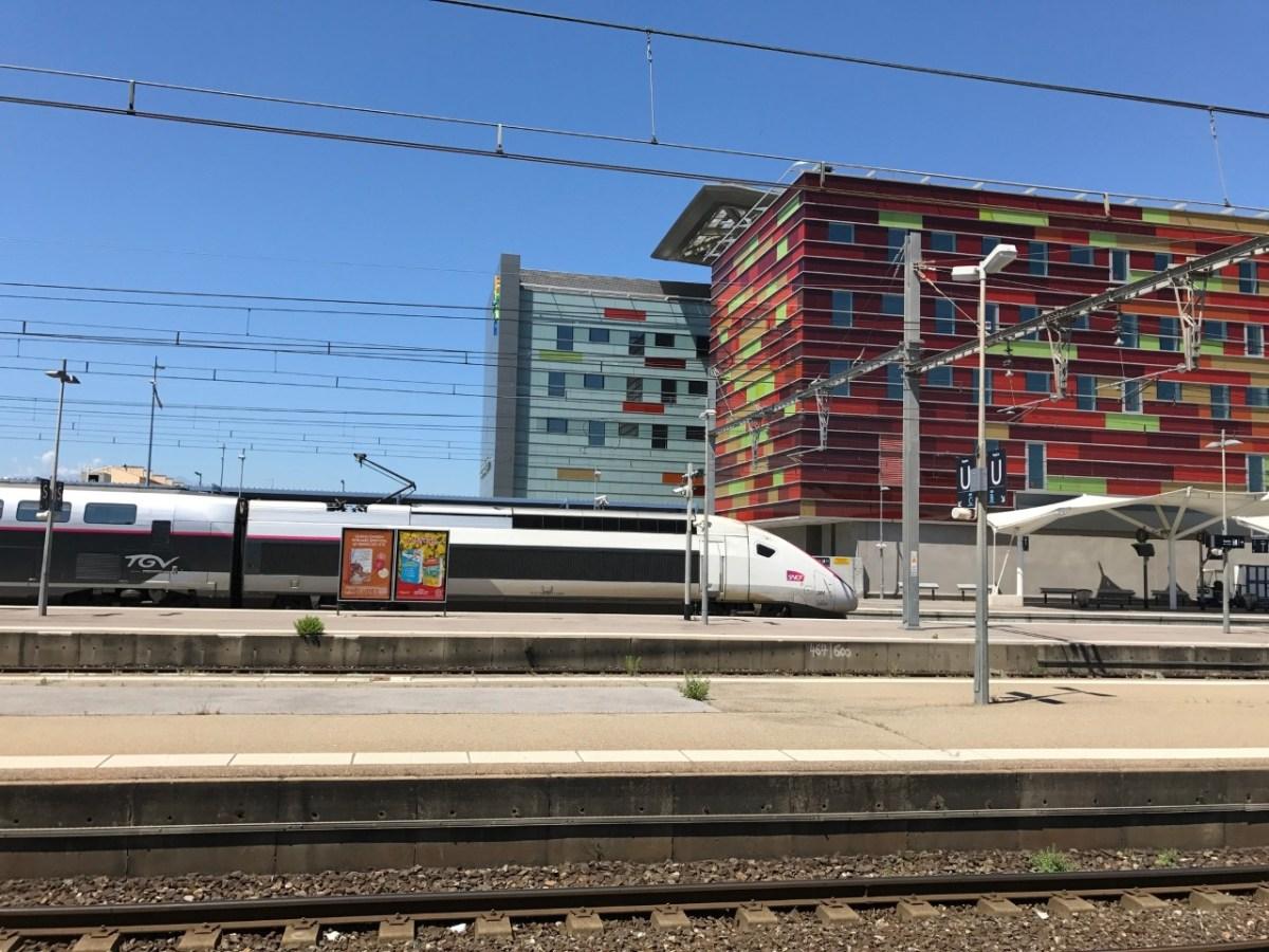 Le TGV Montpellier-Perpignan à nouveau sur les rails...