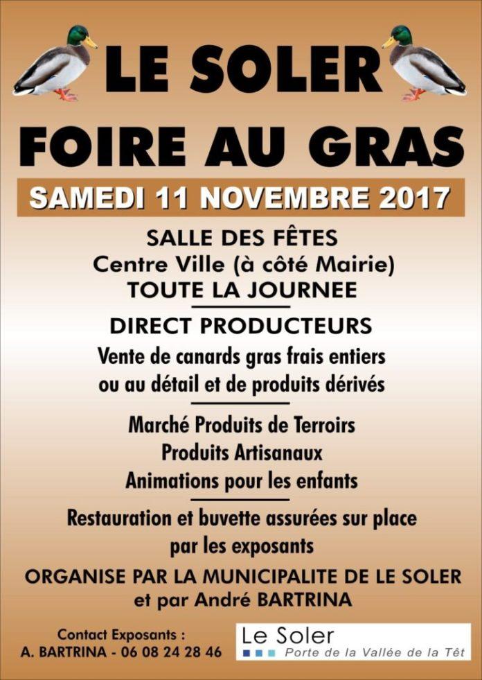 septieme-foire-au-gras-du-soler-le-samedi-11-novembre