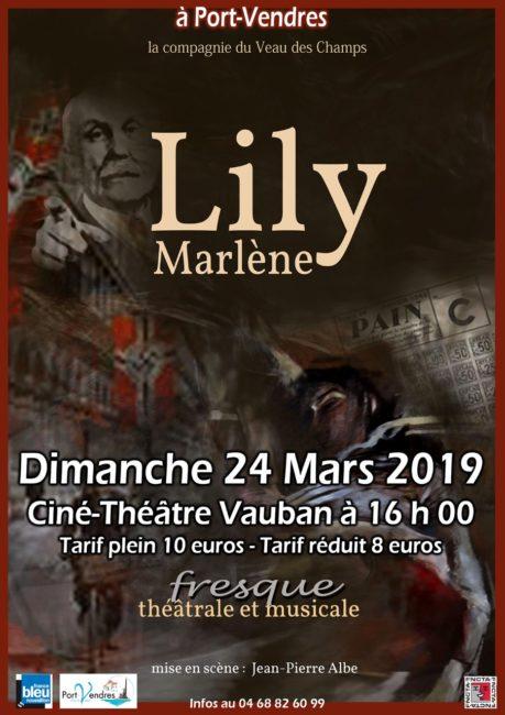 Lily Marlène par la Compagnie « le Veau des Champs » à Port-Vendres