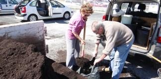 120 personnes pour la distribution de compost
