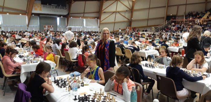Résultats de Perpignan aux championnats de France d'échecs Hyères 2019