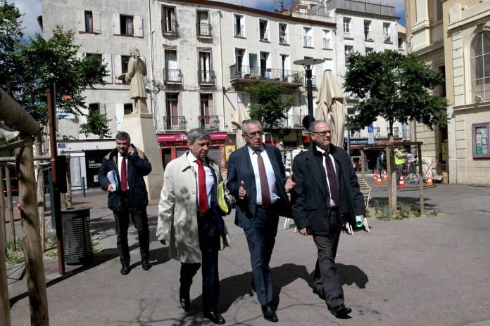 Visite du préfet de Région à Perpignan