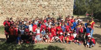Argelès-sur-Mer : 82 rugbymen en herbe