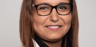 Farida Amrani présente à Perpignan au meeting de La France Insoumise pour les Européennes