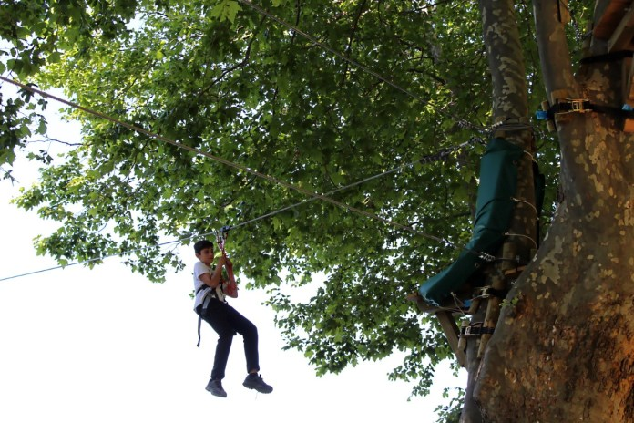 Ouverture du parc-aventure au lac Soler : un rendez-vous que tout le monde attend avec impatience