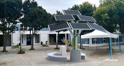 """Votez pour soutenir Elio's, l'arbre solaire au concours national """"Les coups de cœur Caisse d'Épargne"""""""