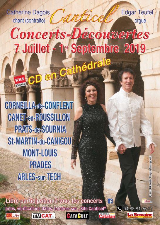 Canticel vous invite à sa Ballade concerts-découverte du 19 juillet au 1er septembre