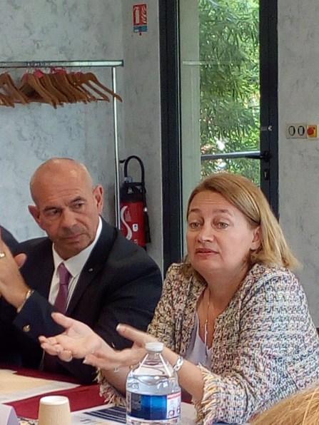Gouvernance Sécurité sociale des indépendants : Sophie Duprez, présidente nationale soutient l'instance d'Occitanie