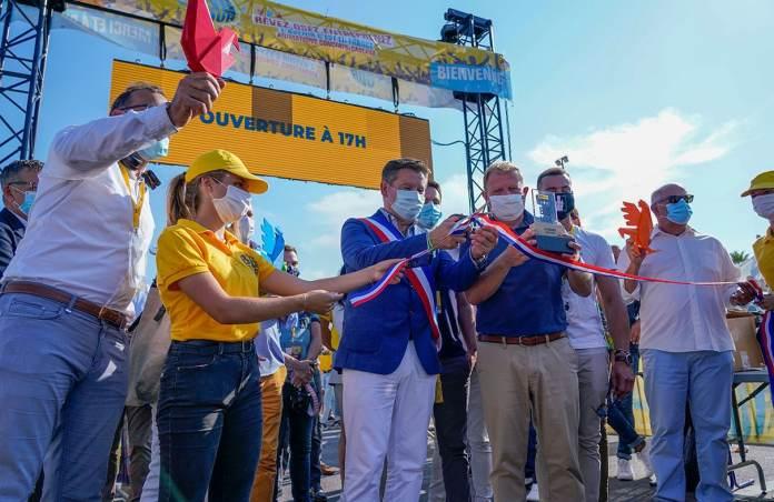 inauguration du Big Tour bpifrance à Port Barcarès par Alain Ferrand