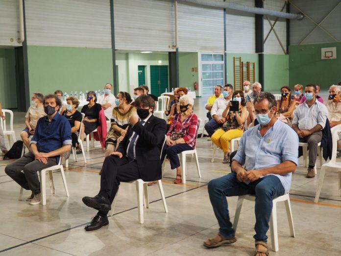 Délégation du Conseil pour la République : visite surprise de Carles Puigdemont