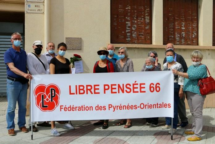 LA LIBRE PENSEE 66 CELEBRE LES 150 ANS DE LA COMMUNE DE PARIS A PORT-VENDRES LE 29 MAI 2021